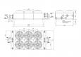 Охладитель водно-гликолевый (двухконтурный) ОВГ-80-23