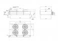 Охладитель водно-гликолевый ОВГ-91-22
